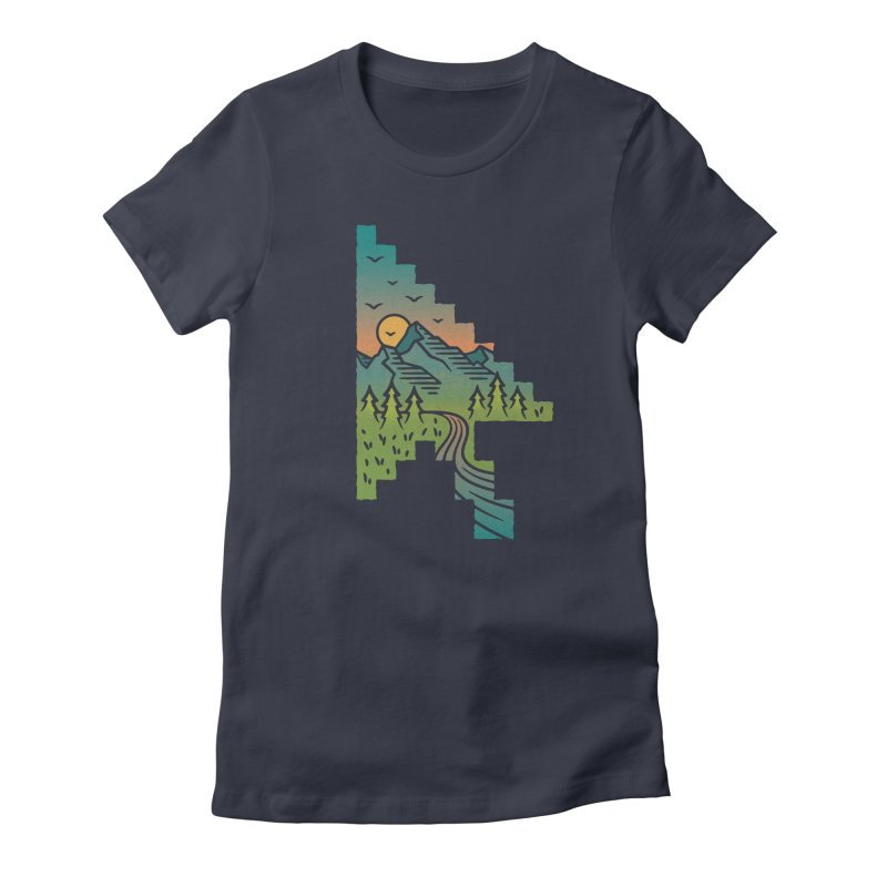 Point of View Women's Fitted T-Shirt by Cody Weiler
