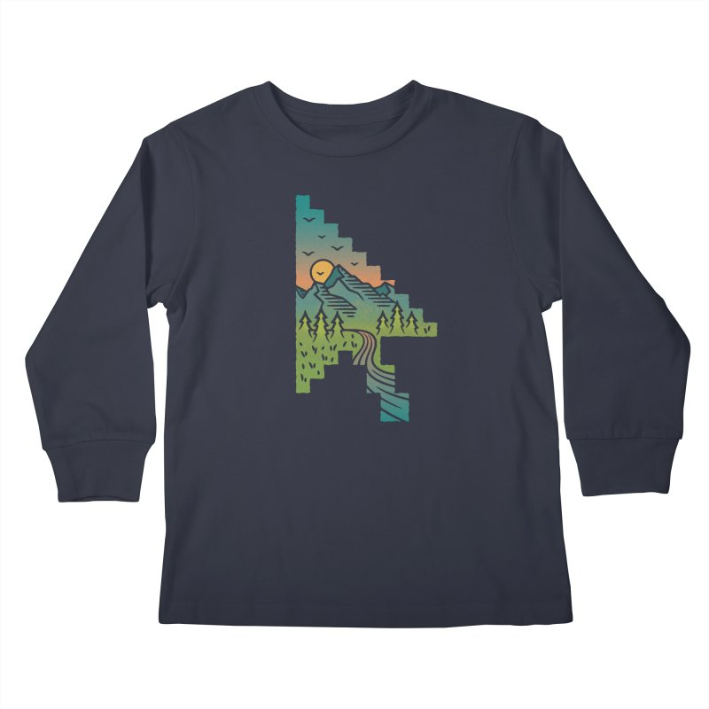 Point of View Kids Longsleeve T-Shirt by Cody Weiler