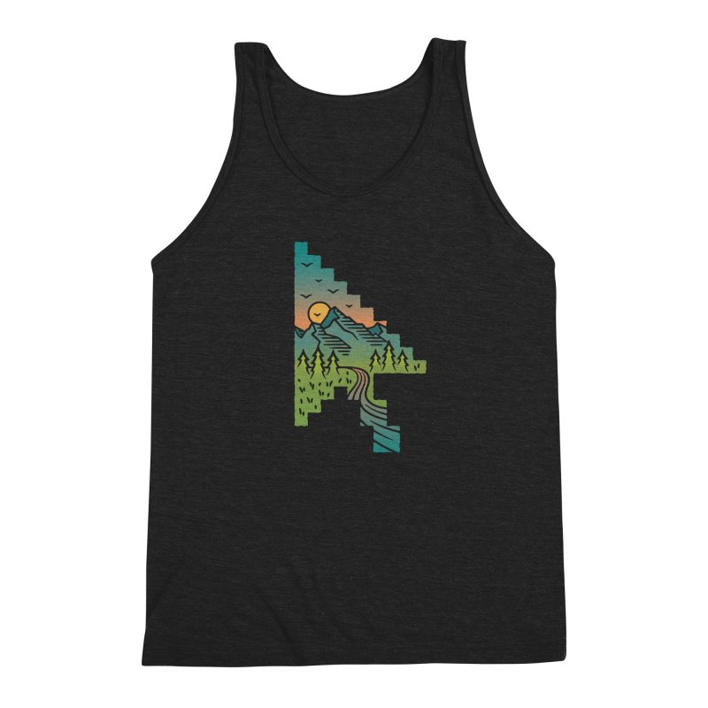 Point of View Men's Triblend Tank by Cody Weiler