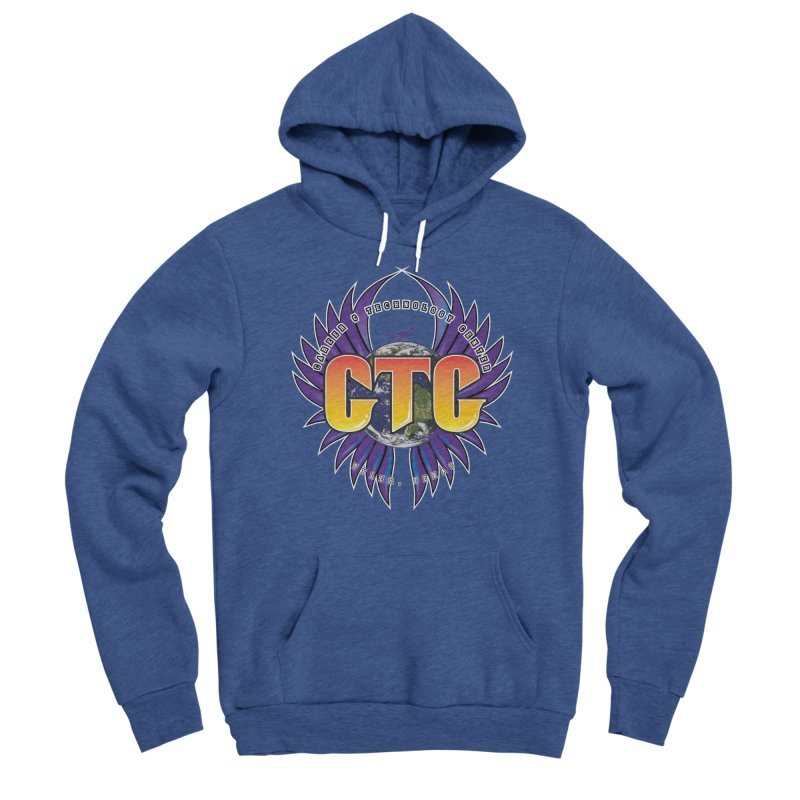 CTC Journey shirt Men's Sponge Fleece Pullover Hoody by CTCROCKETSHOP MERCH