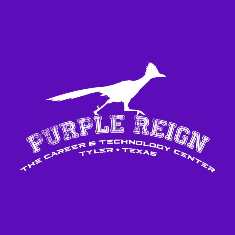CTC PURPLE REIGN FRONT ONLY DESIGN Men's T-Shirt by CTCROCKETSHOP MERCH
