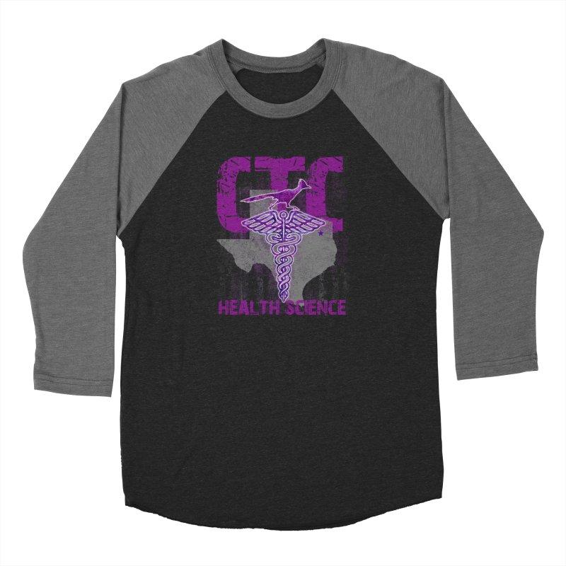 CTC-HEALTH SCIENCE TEXAS Women's Baseball Triblend Longsleeve T-Shirt by CTCROCKETSHOP MERCH