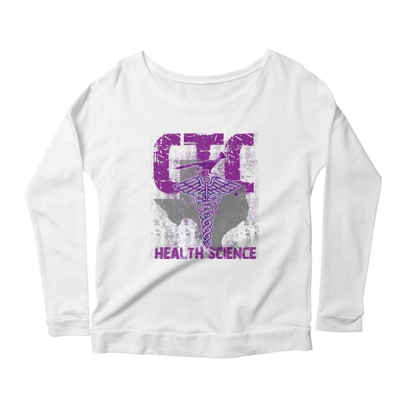 CTC-HEALTH SCIENCE TEXAS Women's Scoop Neck Longsleeve T-Shirt by CTCROCKETSHOP MERCH