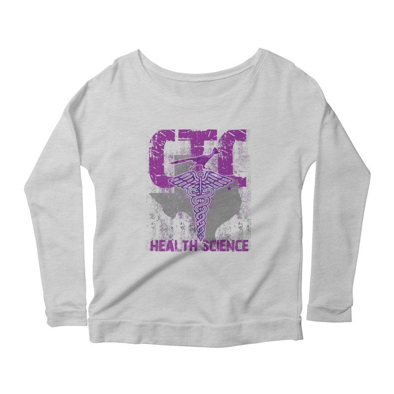 CTC-HEALTH SCIENCE TEXAS Women's Longsleeve T-Shirt by CTCROCKETSHOP MERCH