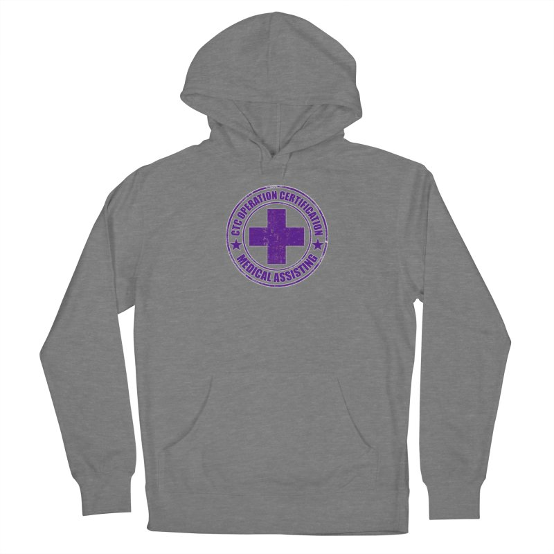CTC MED CROSS NURSE ASSISTANT SHIRT Women's Pullover Hoody by CTCROCKETSHOP MERCH