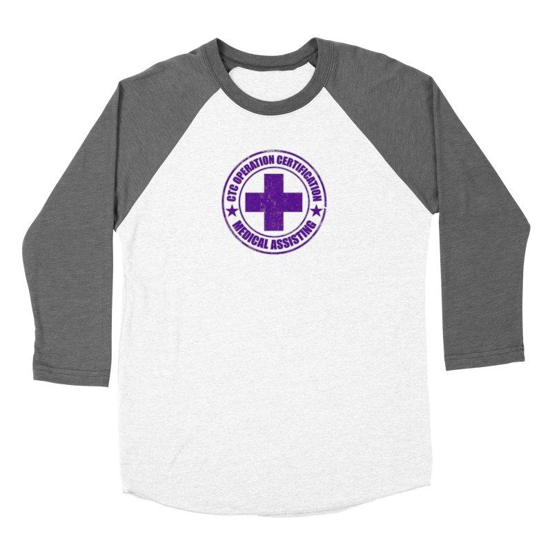 CTC MED CROSS NURSE ASSISTANT SHIRT Men's Baseball Triblend Longsleeve T-Shirt by CTCROCKETSHOP MERCH