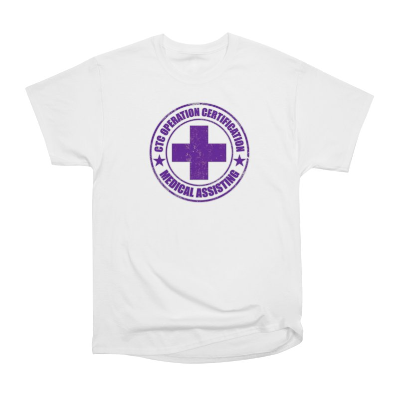 CTC MED CROSS NURSE ASSISTANT SHIRT Men's Heavyweight T-Shirt by CTCROCKETSHOP MERCH