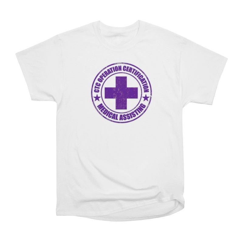 CTC MED CROSS NURSE ASSISTANT SHIRT Men's T-Shirt by CTCROCKETSHOP MERCH