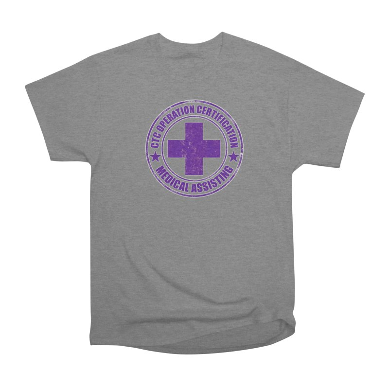 CTC MED CROSS NURSE ASSISTANT SHIRT Women's Heavyweight Unisex T-Shirt by CTCROCKETSHOP MERCH
