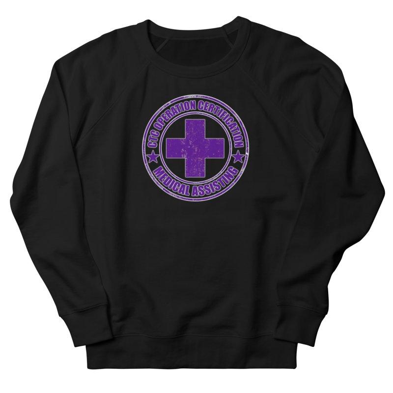 CTC MED CROSS NURSE ASSISTANT SHIRT Men's Sweatshirt by CTCROCKETSHOP MERCH
