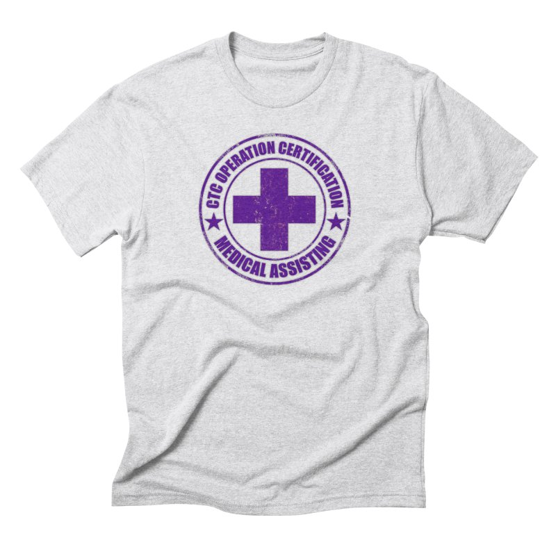 CTC MED CROSS NURSE ASSISTANT SHIRT Men's Triblend T-Shirt by CTCROCKETSHOP MERCH
