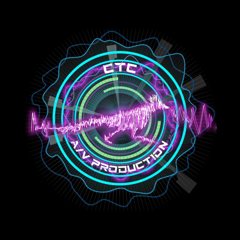 CTC AV Waveform Rocket Design by CTCROCKETSHOP MERCH