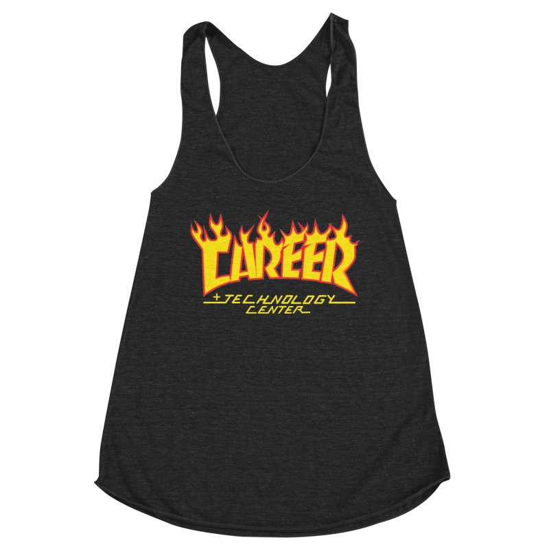 CTC Thrasher Women's Racerback Triblend Tank by CTCROCKETSHOP MERCH