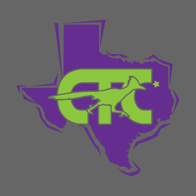 CTC- TEXAS purple & lime Men's T-Shirt by CTCROCKETSHOP MERCH