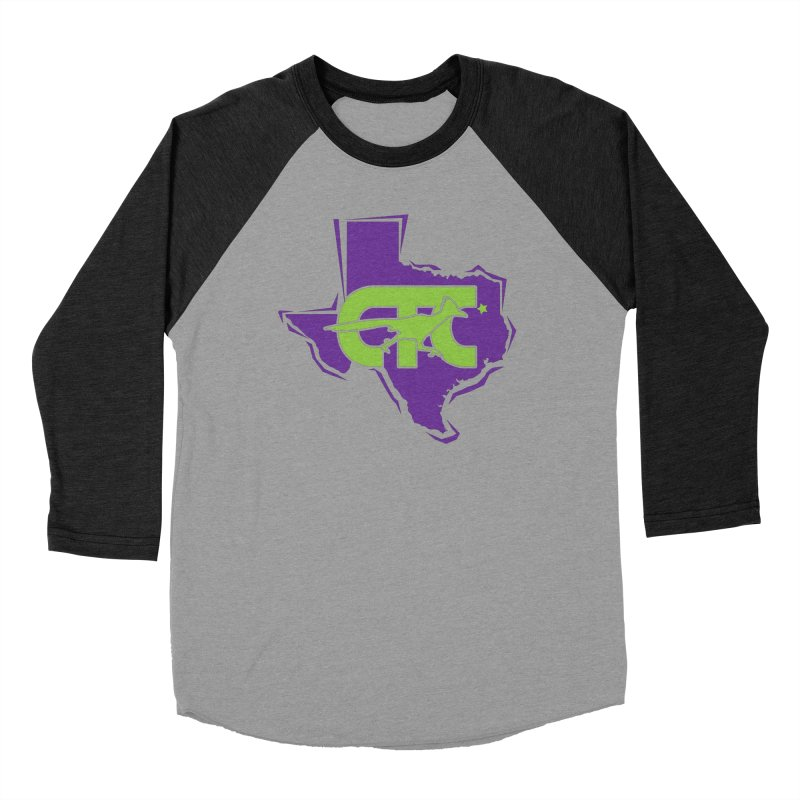 CTC- TEXAS purple & lime Men's Longsleeve T-Shirt by CTCROCKETSHOP MERCH