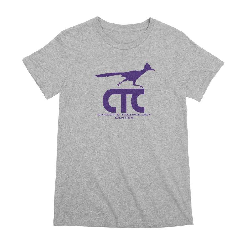 CTC with Rocket Women's Premium T-Shirt by CTCROCKETSHOP MERCH
