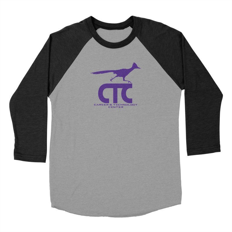 CTC with Rocket Women's Baseball Triblend Longsleeve T-Shirt by CTCROCKETSHOP MERCH