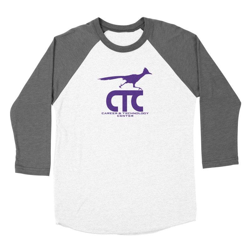 CTC with Rocket Men's Baseball Triblend Longsleeve T-Shirt by CTCROCKETSHOP MERCH