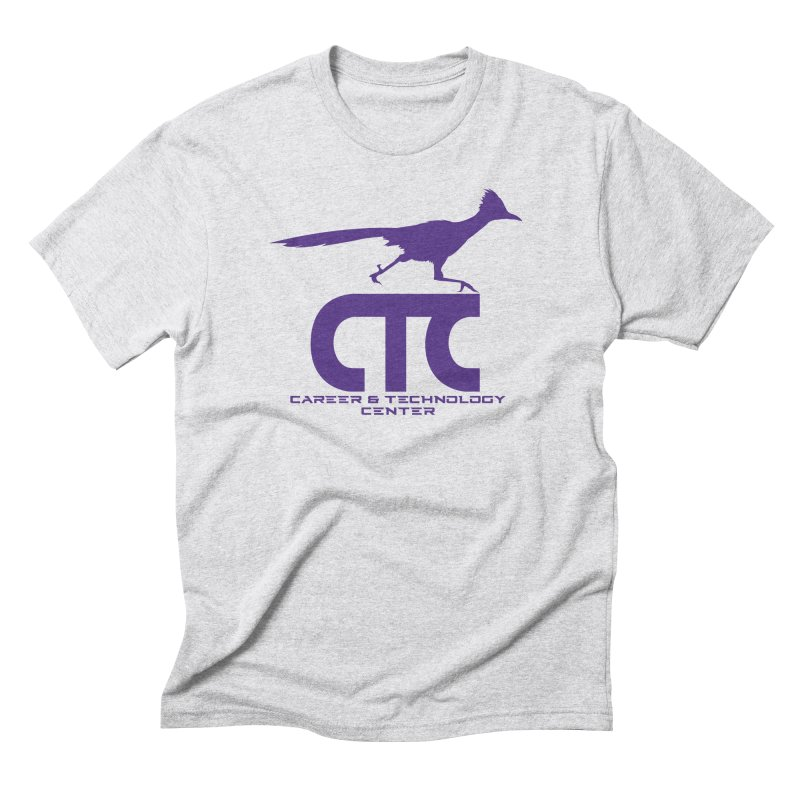CTC with Rocket Men's Triblend T-Shirt by CTCROCKETSHOP MERCH