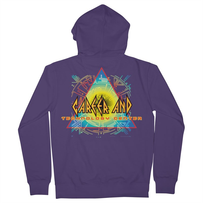 CTC Leppard Women's Zip-Up Hoody by CTCROCKETSHOP MERCH