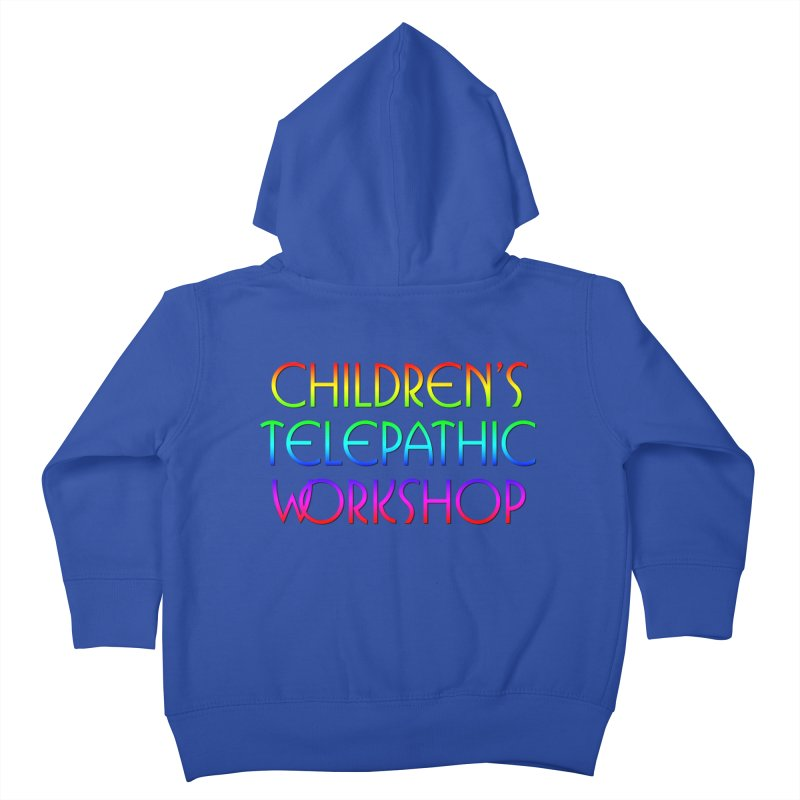 Children's Telepathic Workshop Logo (Rainbow / Stacked) Kids  by Children's Telepathic Workshop