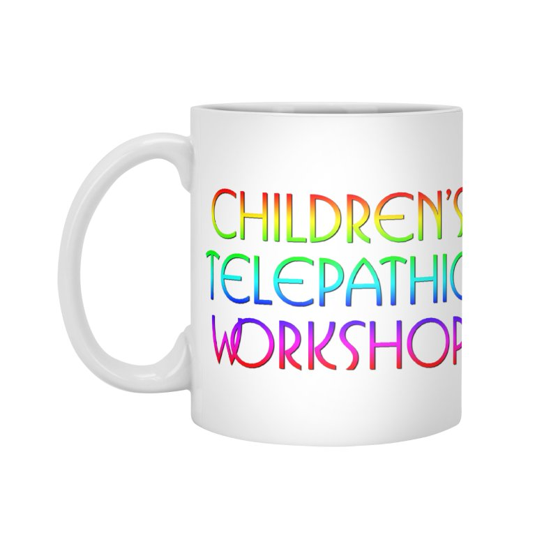Children's Telepathic Workshop Logo (Rainbow / Stacked) Accessories Standard Mug by Children's Telepathic Workshop