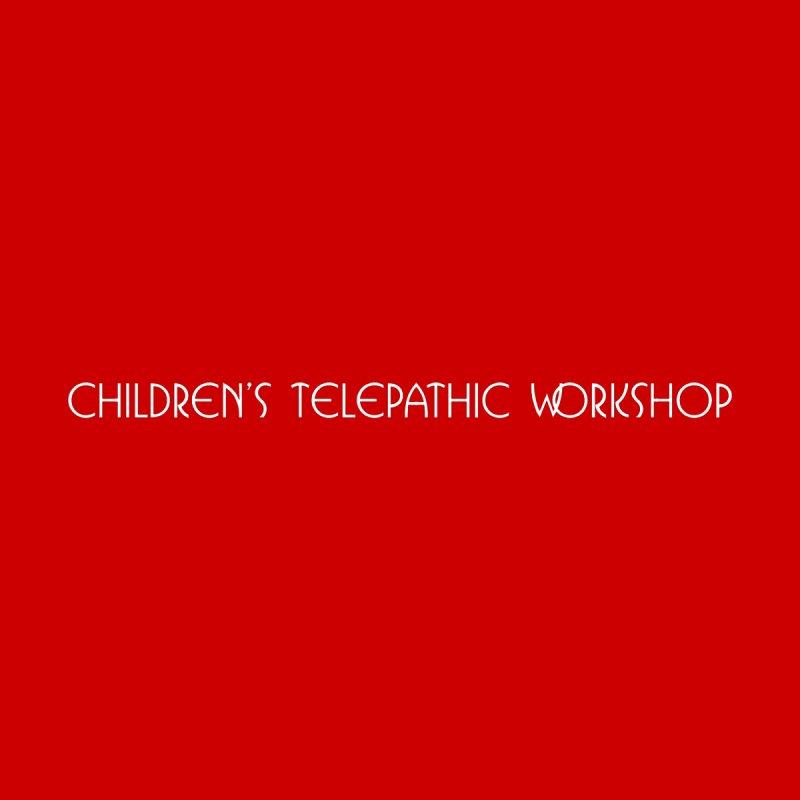 Children's Telepathic Workshop Logo (White / Horizontal) Men's Tank by Children's Telepathic Workshop