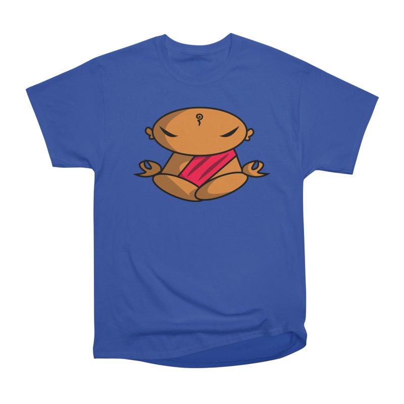The Buddha, Li Guan Fu (Buddha Beliefs) Women's Heavyweight Unisex T-Shirt by Children's Telepathic Workshop