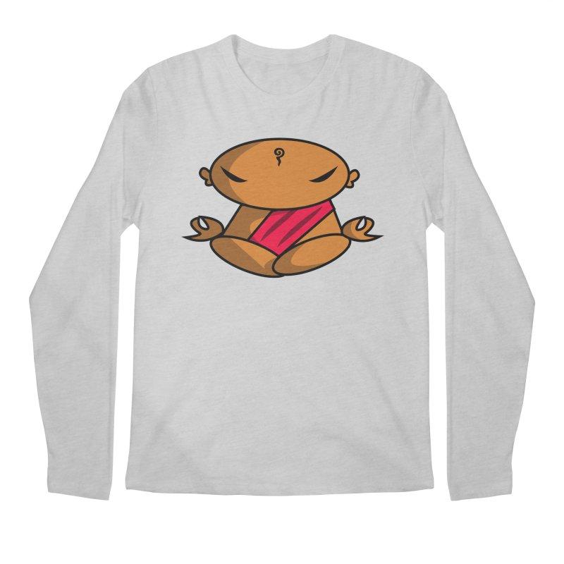 The Buddha, Li Guan Fu (Buddha Beliefs) Men's Regular Longsleeve T-Shirt by Children's Telepathic Workshop