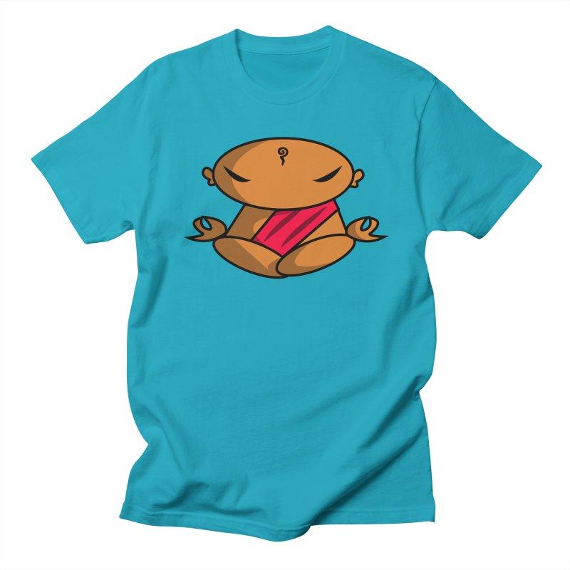 The Buddha, Li Guan Fu (Buddha Beliefs) Men's Regular T-Shirt by Children's Telepathic Workshop