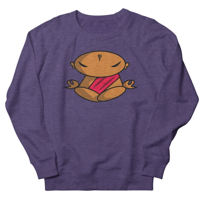 The Buddha, Li Guan Fu (Buddha Beliefs) Women's French Terry Sweatshirt by Children's Telepathic Workshop