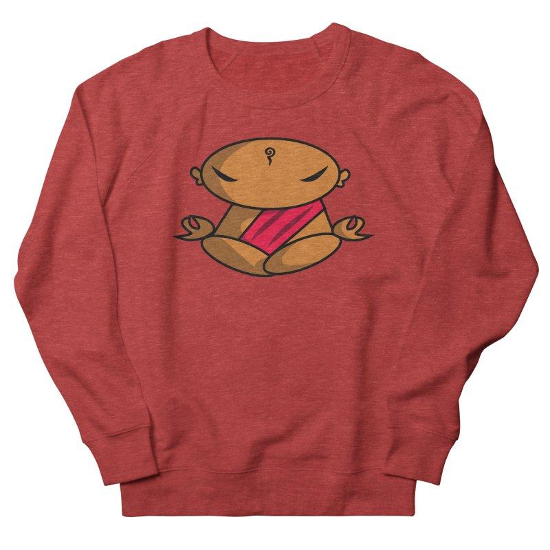 The Buddha, Li Guan Fu (Buddha Beliefs) Women's French Terry Sweatshirt by Children's Telepathic Workshop