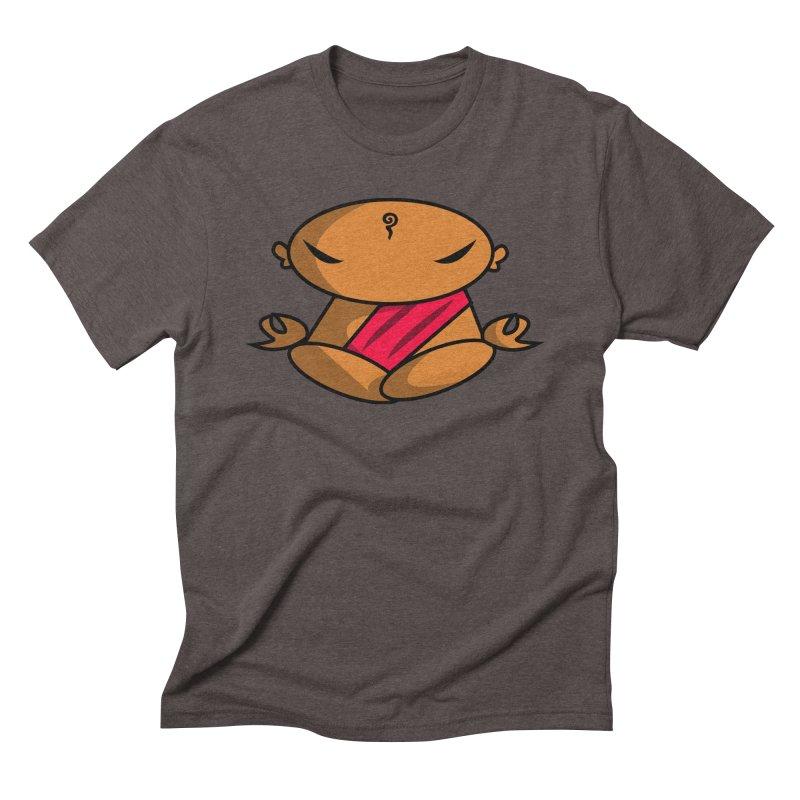 The Buddha, Li Guan Fu (Buddha Beliefs) Men's Triblend T-Shirt by Children's Telepathic Workshop