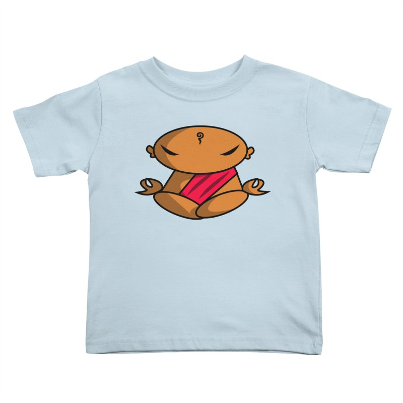 The Buddha, Li Guan Fu (Buddha Beliefs) Kids Toddler T-Shirt by Children's Telepathic Workshop