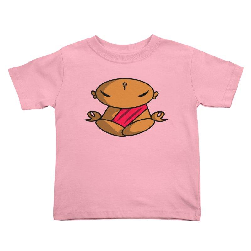The Buddha, Li Guan Fu (Buddha Beliefs) Kids Toddler T-Shirt by Children's Telepathic Workshop