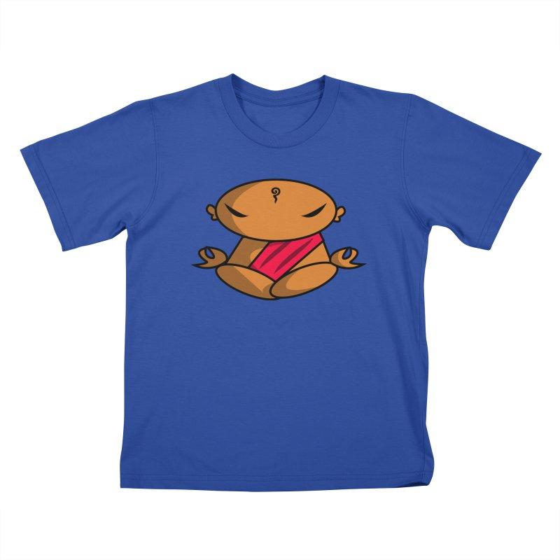 The Buddha, Li Guan Fu (Buddha Beliefs) Kids T-Shirt by Children's Telepathic Workshop