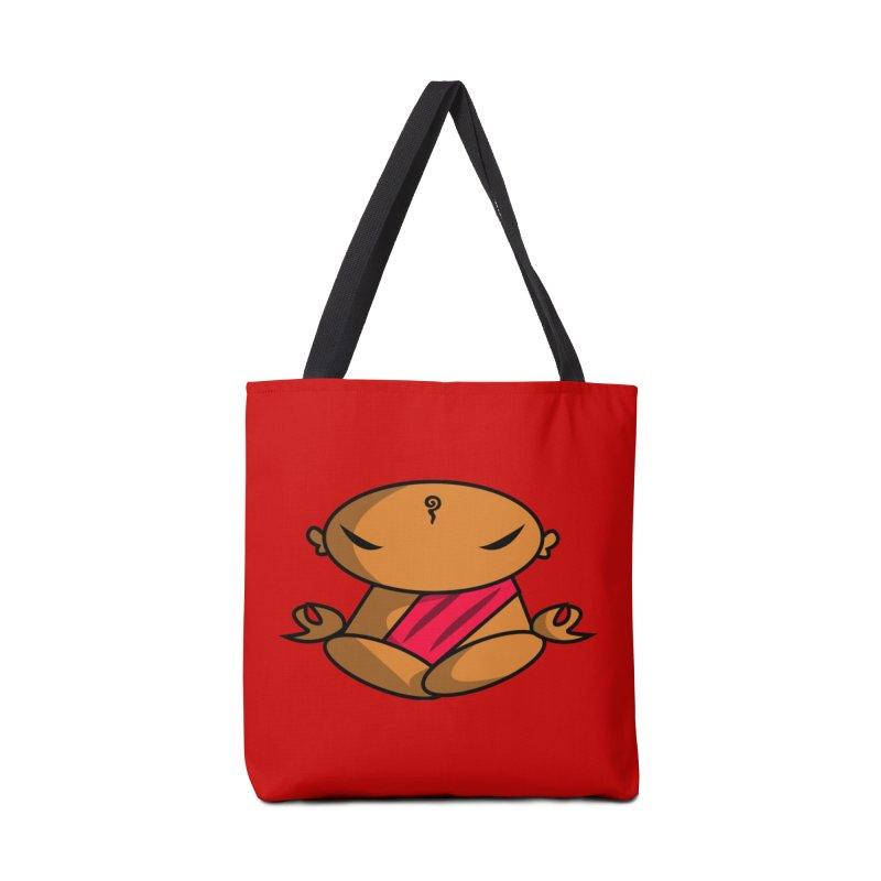 The Buddha, Li Guan Fu (Buddha Beliefs) Accessories Tote Bag Bag by Children's Telepathic Workshop