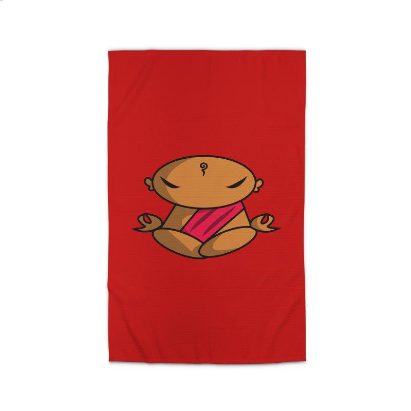 The Buddha, Li Guan Fu (Buddha Beliefs) Home Rug by Children's Telepathic Workshop