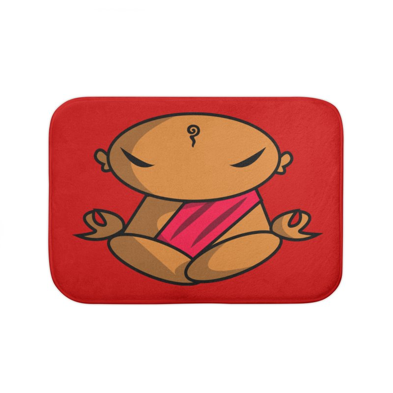 The Buddha, Li Guan Fu (Buddha Beliefs) Home Bath Mat by Children's Telepathic Workshop