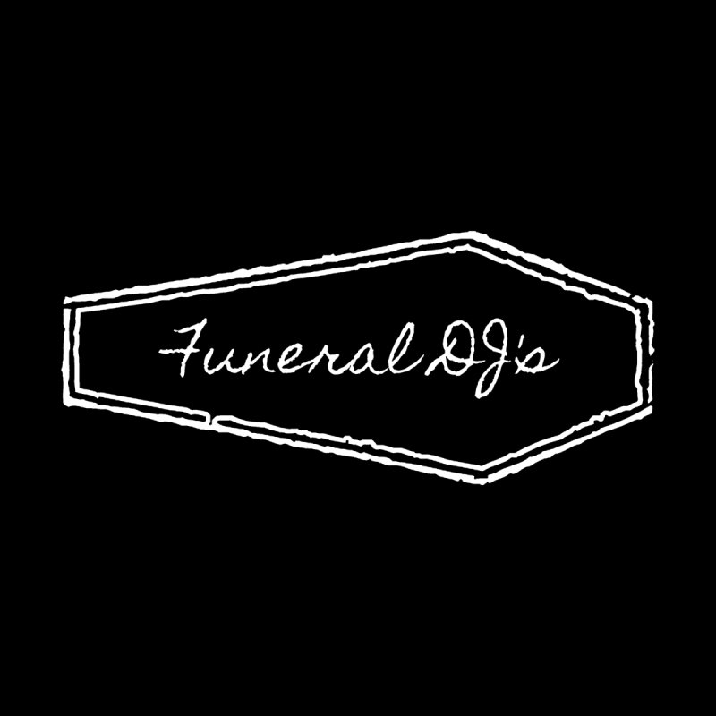 Funeral DJ's Logo - Coffin Women's Scoop Neck by Children's Telepathic Workshop