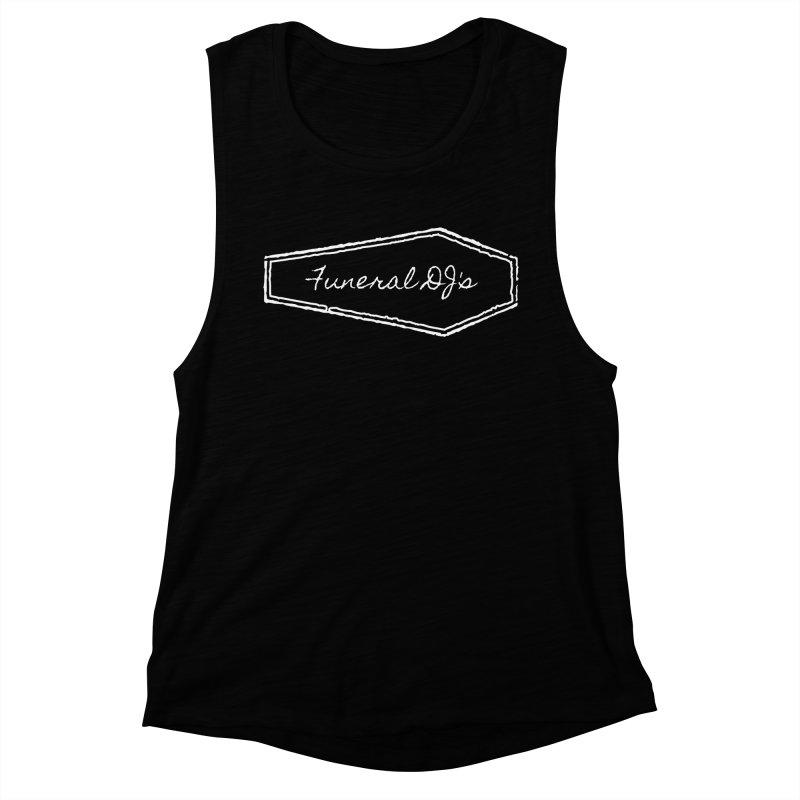 Funeral DJ's Logo - Coffin Women's Muscle Tank by Children's Telepathic Workshop