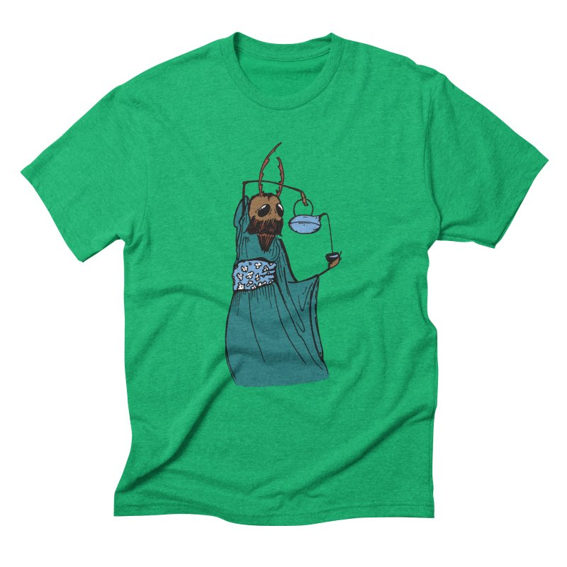 Geisha Tim Men's Triblend T-Shirt by Children's Telepathic Workshop