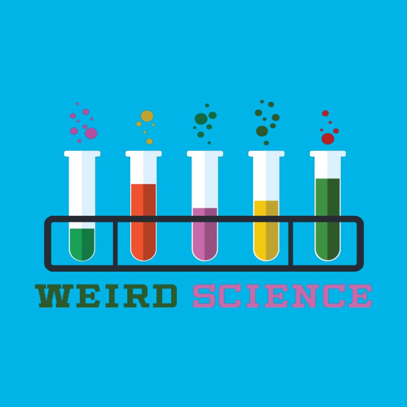 Weird Science Men's T-Shirt by Children's Telepathic Workshop