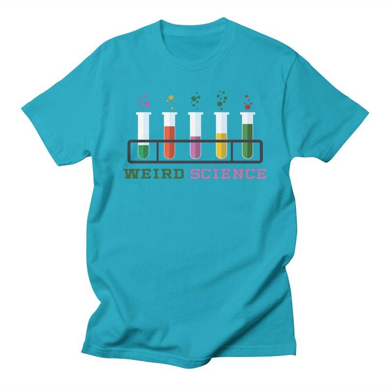 Weird Science Men's Regular T-Shirt by Children's Telepathic Workshop