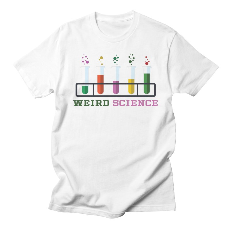 Weird Science Women's Regular Unisex T-Shirt by Children's Telepathic Workshop