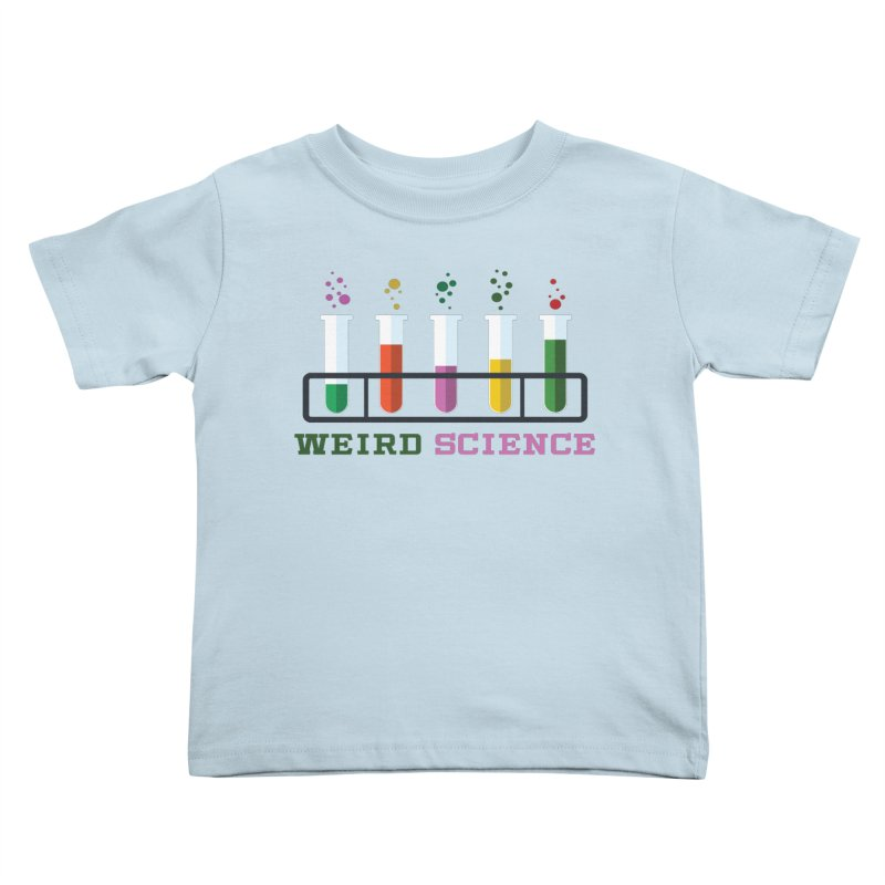 Weird Science Kids Toddler T-Shirt by Children's Telepathic Workshop
