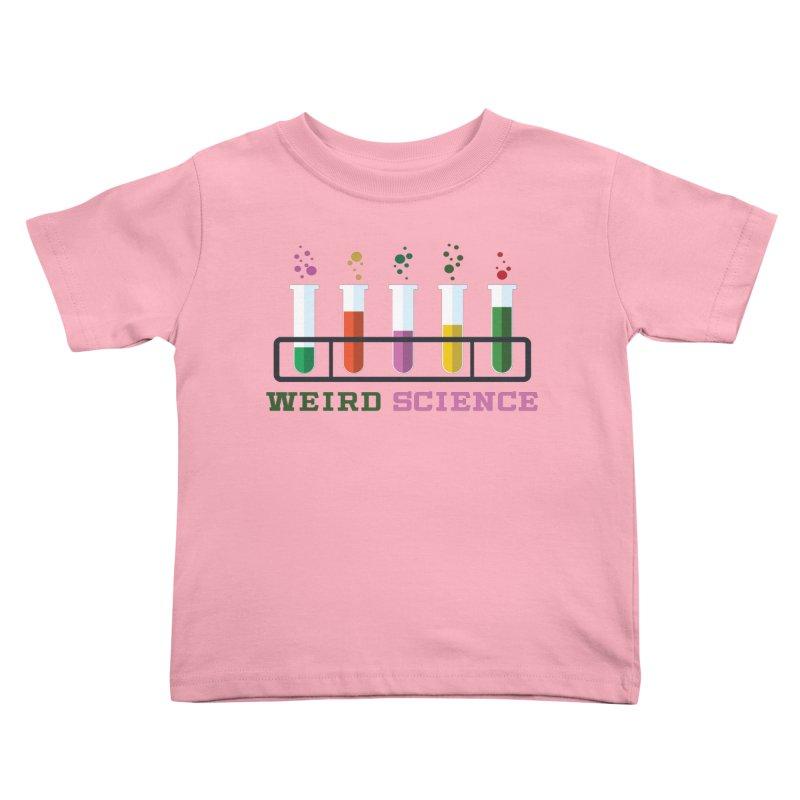 Weird Science Kids Toddler T-Shirt by Children's Telepathic Workshop