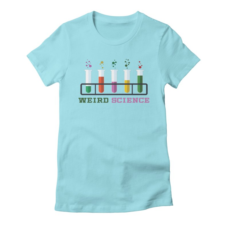 Weird Science Women's Fitted T-Shirt by Children's Telepathic Workshop