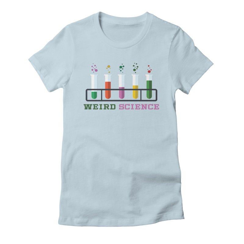 Weird Science Women's T-Shirt by Children's Telepathic Workshop