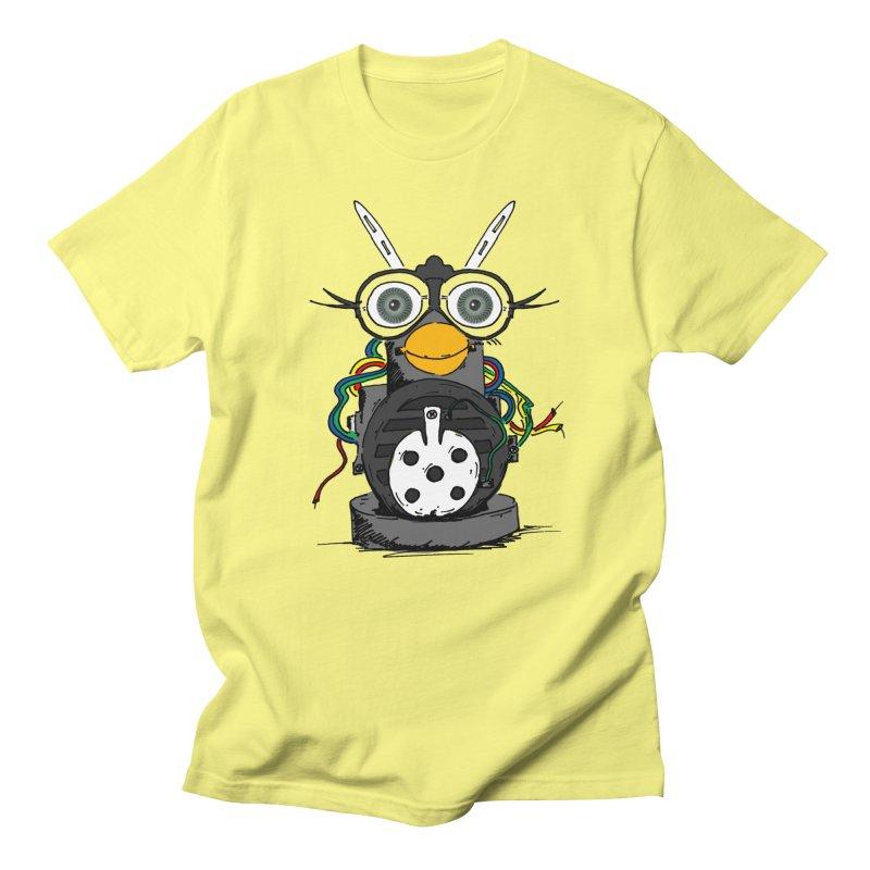 Bent Fur-bot Men's T-Shirt by Children's Telepathic Workshop
